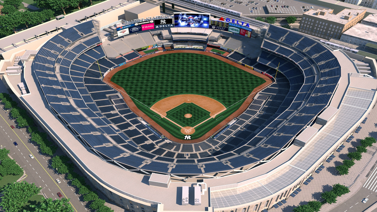 New york yankees virtual venue by iomedia